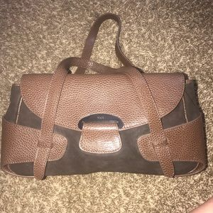 Tod's handbag black and brown